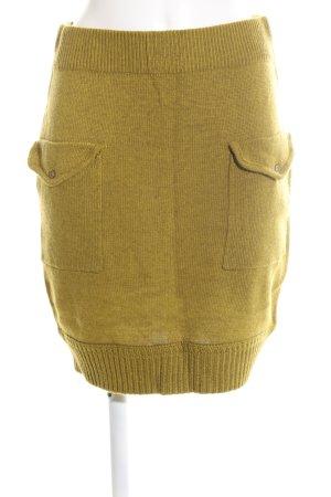 Yaya Gonna di lana giallo pallido stile casual