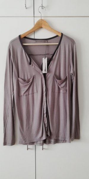 Yaya Shirt Tunic grey-taupe