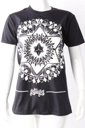 YDWYA T-Shirt schwarz