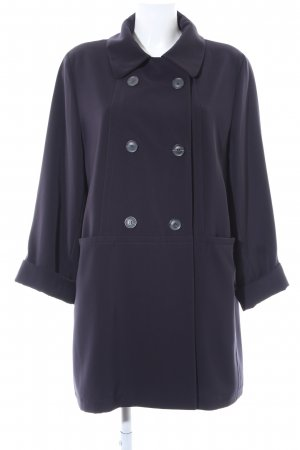 Yell Heavy Pea Coat dark blue business style