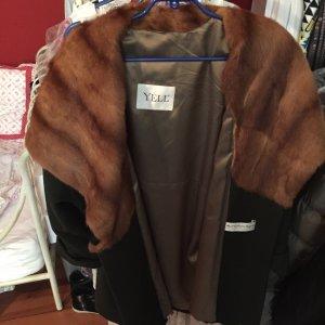YELL Mantel aus Wolle,Kaschmir und Angora Gr. 42(EU)