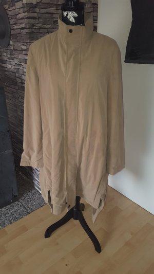 Veste longue chameau