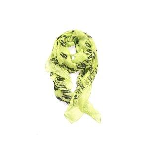 Alexander McQueen Bufanda amarillo