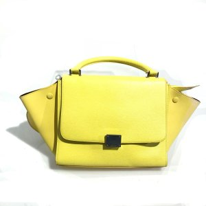 Yellow  Celine Shoulder Bag