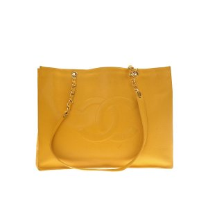 Yellow  Chanel Shoulder Bag