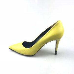 Fendi Sandalo con tacco alto giallo