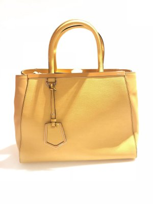 Yellow  Fendi Shoulder Bag