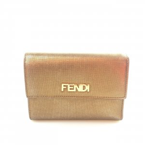 Yellow  Fendi Wallet