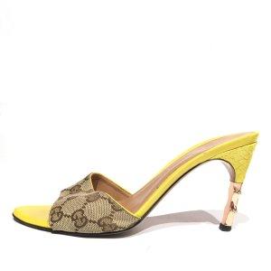 Yellow  Gucci Flip Flop