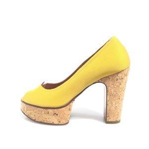 Yellow  Lanvin High Heel