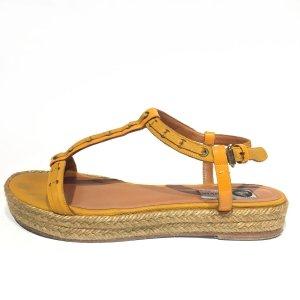 Yellow  Lanvin Sandal
