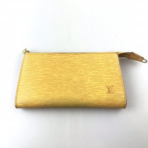 Yellow  Louis Vuitton Clutch