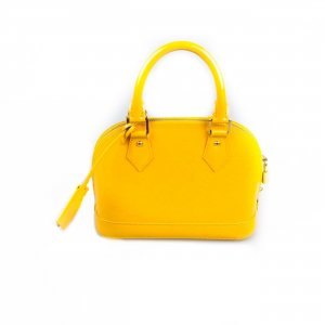 Louis Vuitton Bolsa de hombro amarillo