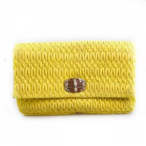 Yellow  Miu Miu Clutch