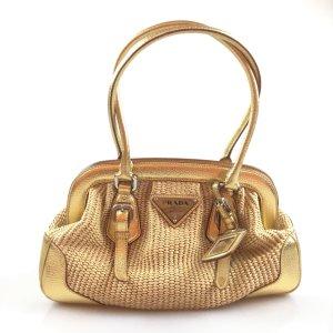 Yellow  Prada Shoulder Bag