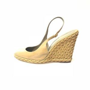 Saint Laurent High-Heeled Sandals yellow