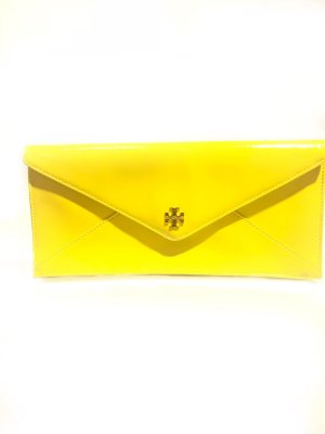 Yellow  Tory Burch Clutch