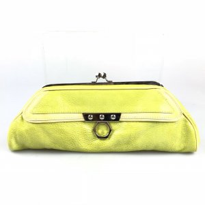Yellow  Zac Posen Clutch