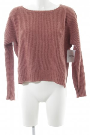Yerse Strickpullover altrosa Street-Fashion-Look
