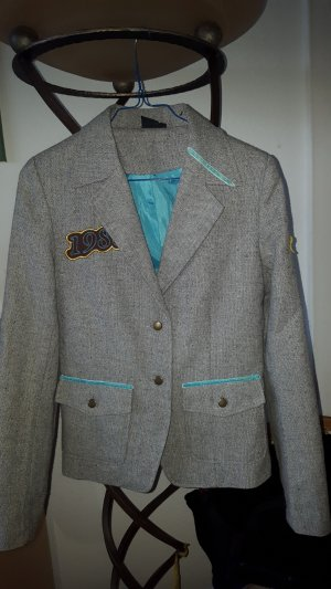 Yes or No Wollblazer meliert mit Patches Gr.36