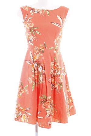 Yessica A-Linien Kleid Blumenmuster Casual-Look
