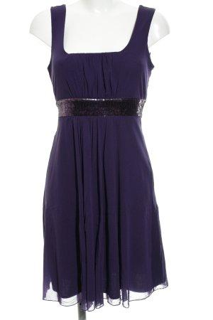 Yessica A-Linien Kleid dunkelviolett Elegant