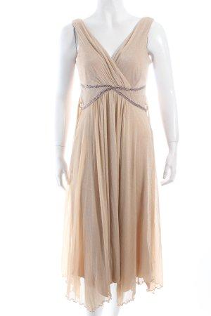 Yessica Abendkleid creme-goldfarben Romantik-Look