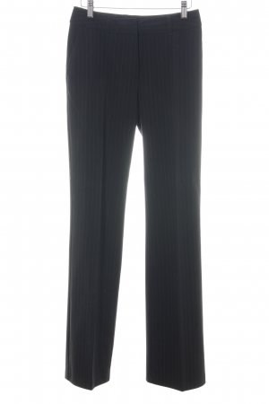 Yessica Suit Trouser black striped pattern business style