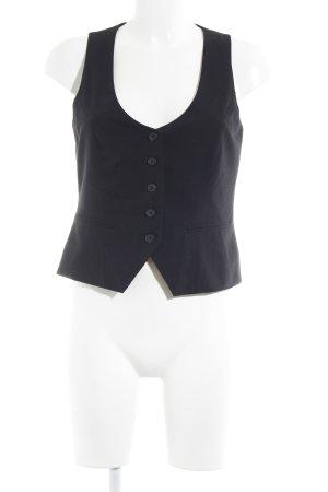 Yessica Waistcoat black casual look