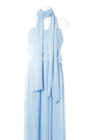 Yessica Abito da ballo azzurro elegante