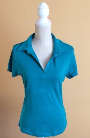 Yessica C&A Poloshirt Shirt hellblau Größe L wie neu
