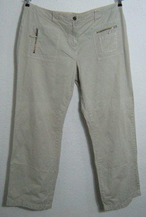 YESSICA Chino Jeans Hose Größe 48 Beige