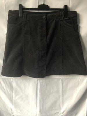 Yessica Jupe en jeans brun foncé coton