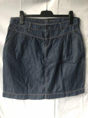 Yessica Jupe en jeans bleu foncé coton