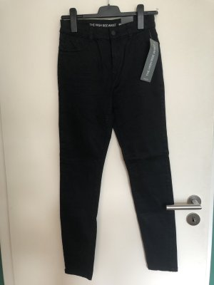 Yessica Jeans taille haute noir