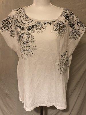 Yessica Hippie T-Shirt schwarz/weiß L