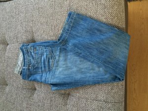 Yessica Jeans 38 blau Schlaghose