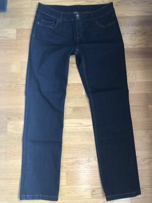 Yessica Stretch jeans donkerblauw