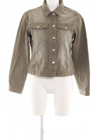 Yessica Jeansjacke braun Washed-Optik