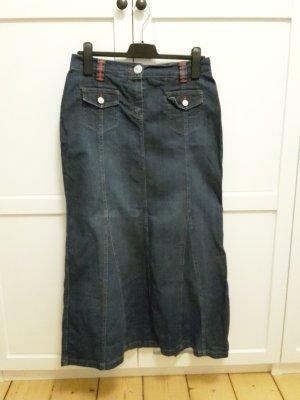 Yessica Jeansrock Maxirock Gr. 38/40 dunkelblau Jeansmaxi
