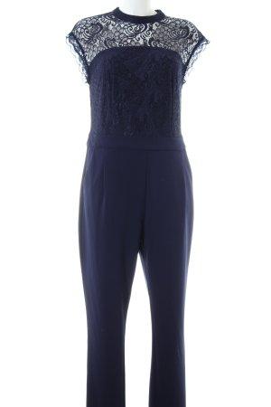 Yessica Jumpsuit blau Elegant
