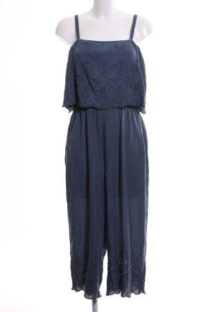 Yessica Jumpsuit blau Streifenmuster Casual-Look