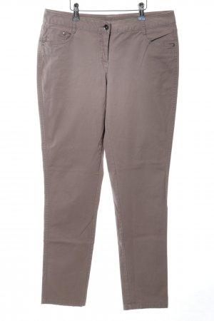 Yessica Peg Top Trousers natural white casual look