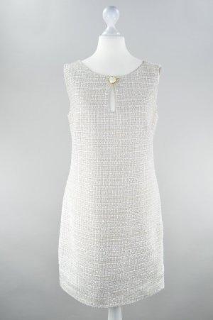Yessica Kleid mit Struktur creme Größe 36