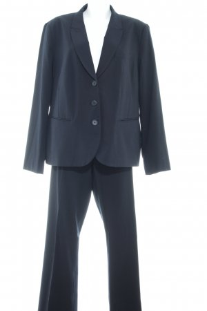 Yessica Ladies' Suit black pinstripe business style