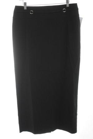 Yessica Maxi Skirt black-silver-colored elegant