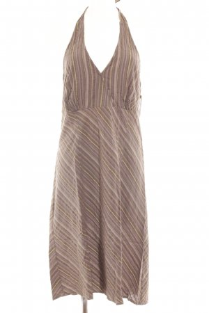 Yessica Halter Dress striped pattern casual look