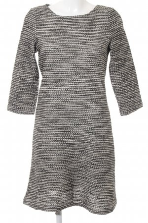 Yessica Sweater Dress black-cream casual look