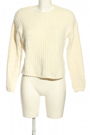 Yessica Rundhalspullover creme Casual-Look