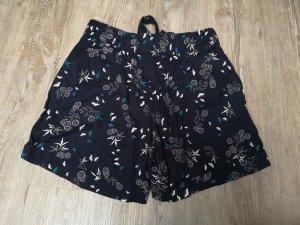 Yessica Shorts High /Mid Rise 38 dunkelblau weiß